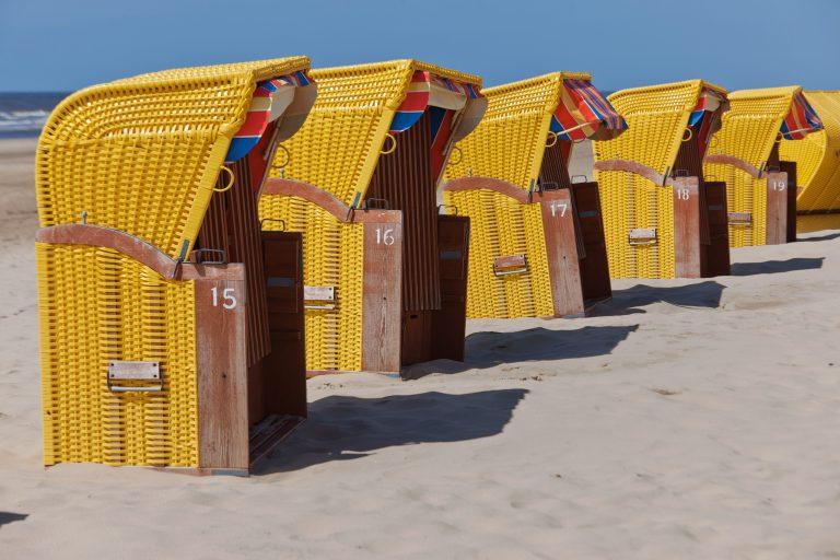 Ontspannen aan het strand